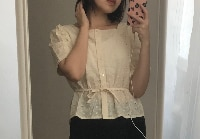 New square Embroidery lace shirt Summer Tops femme Casual Women short sleeve Linen Cotton Girls Blouse Plus Size Women Blouses