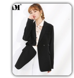 [EAM]2021 New Spring Autumn Stand Collar Long Sleeve Back Lace Hollow Out Spliced Big Size Shirt Women Blouse Fashion Tide JR835