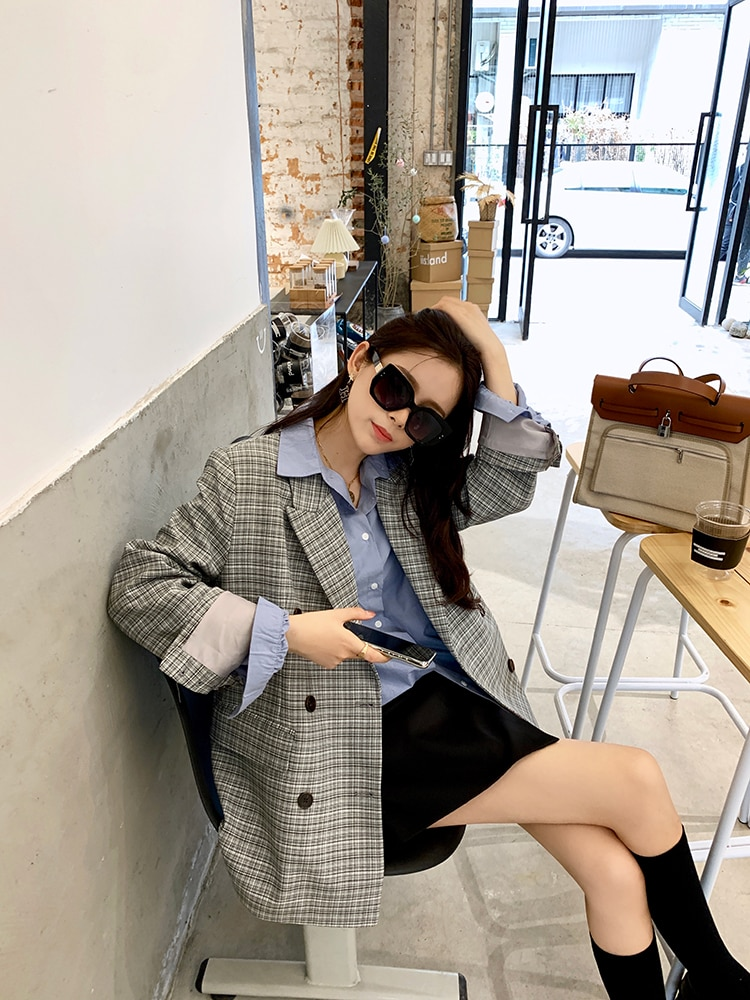 Mishow 2020 Spring Shirts Women Solid Turn Down Collar Long Sleeve Office Lady Female Tops MX20A4163
