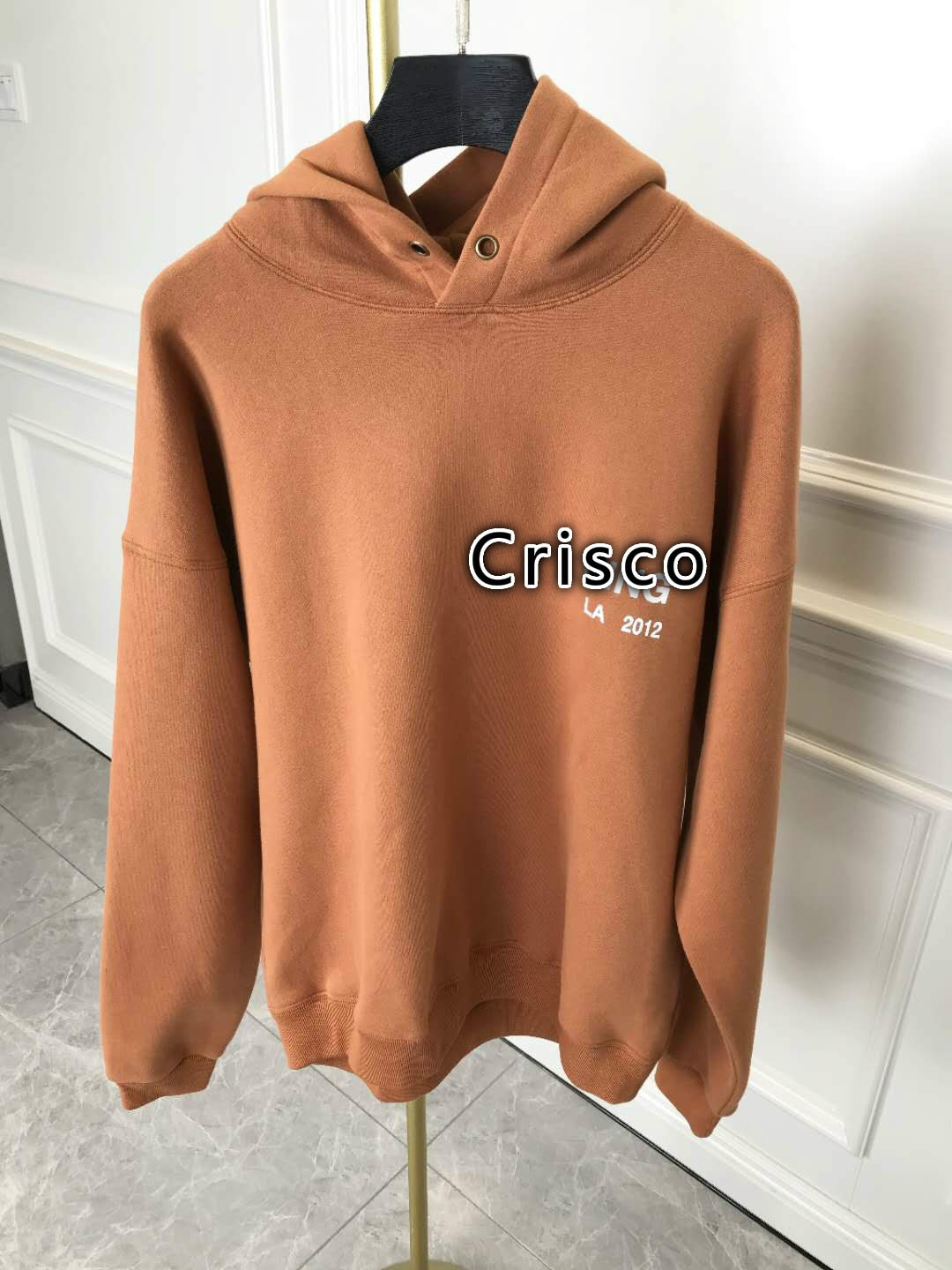 100% Cotton Women's Hoodie Pullover Letter Printed Long-sleeved Hooded Sweatshirt Oversized