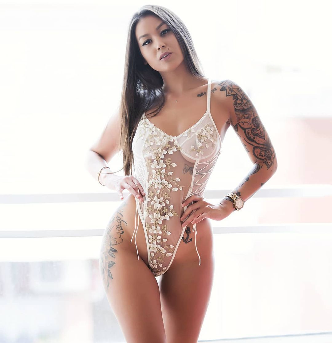 BIIGGXX women set sexy lingerie slutty clothes French sexy wearing lace see-through embroidery body shaping bodysuit